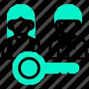 host, landlord, lender, owner, possessor icon