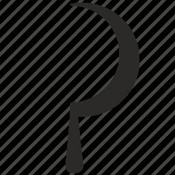 blade, communism, hammer, instrument icon