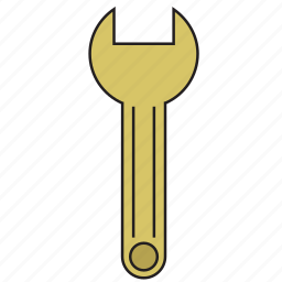 instrument, repair, settings, spanner, tool, work, wrench icon