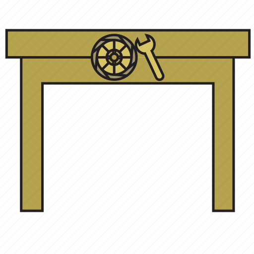 building, car service, help, service, services, support, work icon