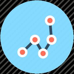 analytics, business chart, economy graph, financial chart, statistics icon
