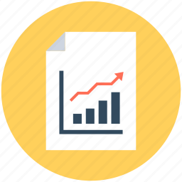 bar chart, bar graph, business report, infographics, report icon