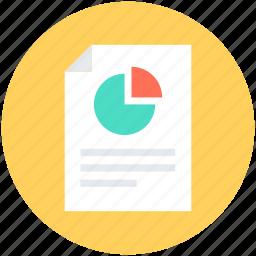 graph report, pie chart, pie graph, report, statistics icon