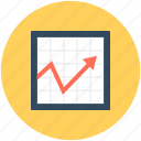 graph, growth chart, line chart, line graph, progress chart icon