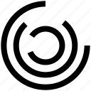 abstract, analytics, circles, comparison, stripes