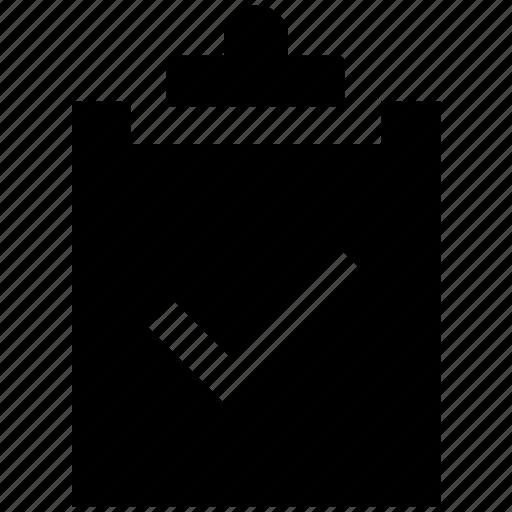 accept, analytics, clipboard, file, report, statistics icon