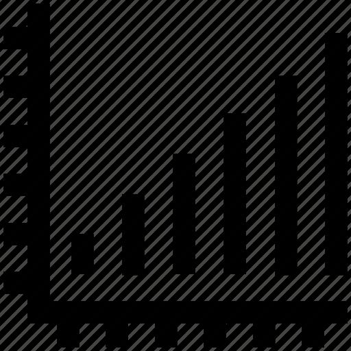 analytics, chart, diagram, financial report, growth, statistics icon