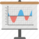 cumulative delta chart, graphical representation, power volume analysis, sierra chart, volume indicator chart icon