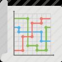 analysis, chart, chart sheet, graph, statistics icon