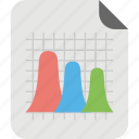 area chart, area graph, charting application, graphical representation, layered area chart icon