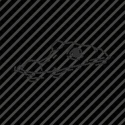 alligator, alligatoridae family, predator, reptile, submerged alligator, swamp icon