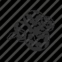 ball python, boa constrictor, preditor, python, reptile, snake, squeeze icon