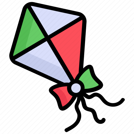 Kite, fly, flying, air, play, enjoy icon - Download on Iconfinder
