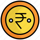 indian coin, currency, coin, rupee, money