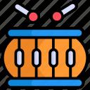 drum, music, instrument, sound, song