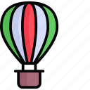 hot balloon, air balloon, fly, travel, tourism, holiday