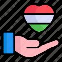 heart, love, love india, hand holding, heart on hand