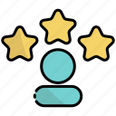 reputation, quality, ranking, rating, star, review