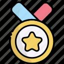 medal, award, winner, achievement, reward, success