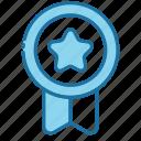 badge, award, medal, prize, achievement, reward