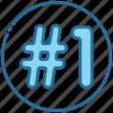 one, best, achievement, success, ranking