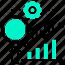 analysis, chart, graph, method, process, statistics icon