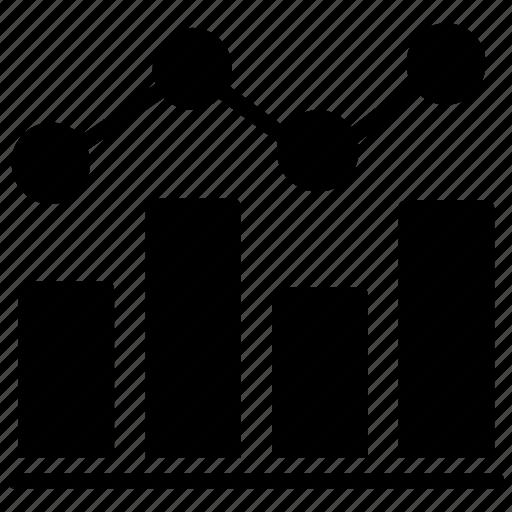 analytical presentation, business analysis, evaluation report, market analysis, statistical analysis icon