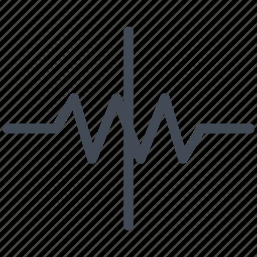 attenuator, circuit, diagram, electric, electronic icon