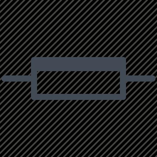 circuit, diagram, electric, electronic, ldr, photoresistor icon