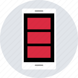 cell, design, device, mobile, phone, responsive, ux icon
