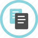 item, copy, order, repeat, menu, document, list icon