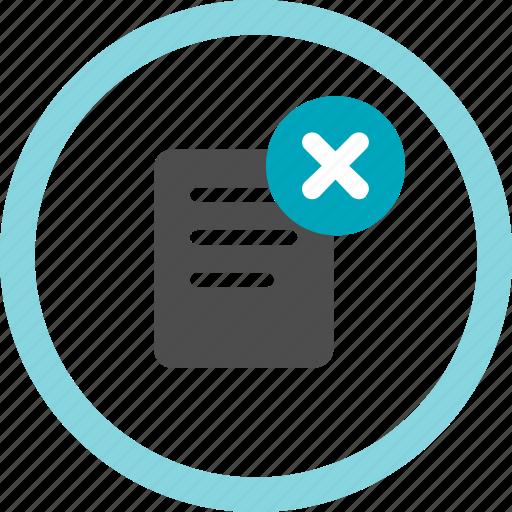 cancel, delete, item, menu, order, remove, void icon