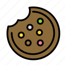 cookie, drink, food, meal icon
