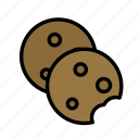 cookies, drink, food, meal icon