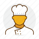 chef, cook, cooking, hat, kitchen, restaurant icon
