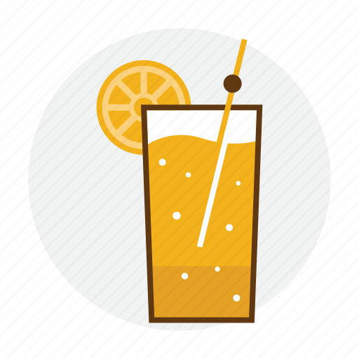 drink, fruit, ice, juice, orange, summer icon