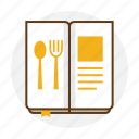 delicious, food, fork, menu, restaurant, spoon icon