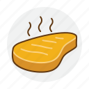 beef, food, grilled, meat, roast, steak icon