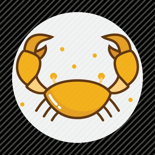animal, crab, food, restaurant, sea, seafood icon