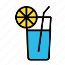drink, food, meal, water icon