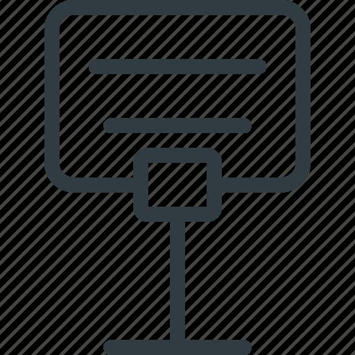 reservation, restaurant, service, sign icon