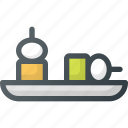 appetizer, food, restaurant icon