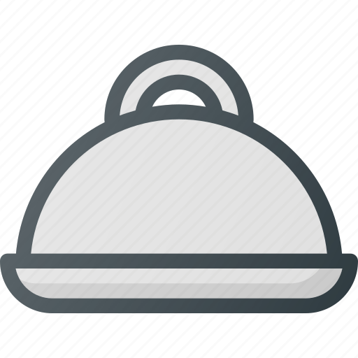 food, platter, restaurant, service icon