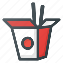 carryout, chinese, fast, food, takeout icon