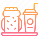 beverage, bread, drink, food, meal, sandwich icon