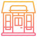 building, element, restaurant, shop, store icon