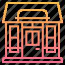building, element, restaurant, shop, store