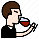 drinks, manners, specialist, taste, wine, winery icon