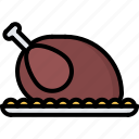 cafe, chicken, food, lunch, restaurant, turkey icon