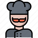 cafe, chef, cook, food, lunch, restaurant icon